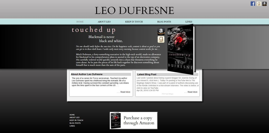 Author Leo Dufresene's Website Picture